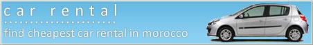Cheap car hire in Morocco