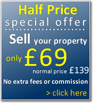 Sell your property for only £69